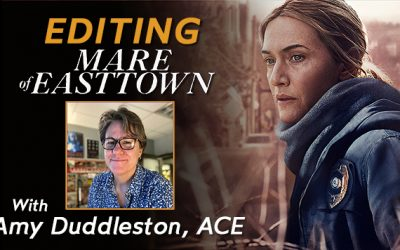 """Amy Duddleston, ACE: Editor of HBO's """"Mare Of Easttown"""""""